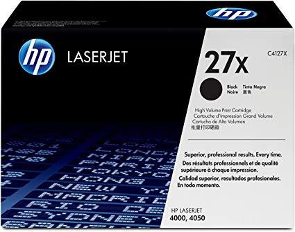Original HP Toner C4127X / 27X black