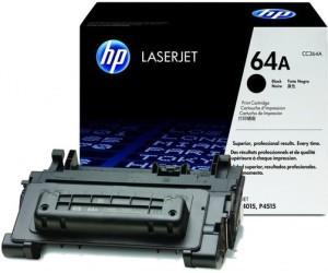 Original HP Toner CC364A / 64A black