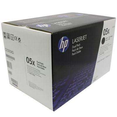 Original HP Toner CE505AD / 05A DuoPack