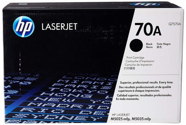 Original HP Toner Q7570A / 70A black