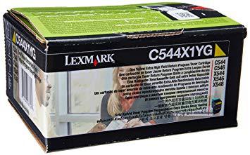 Original Lexmark Toner C544X1YG