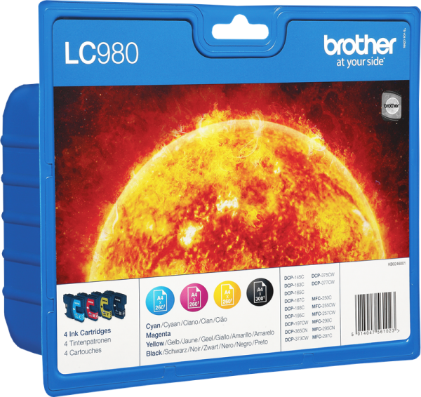 Brother Ink LC980VALBPDR