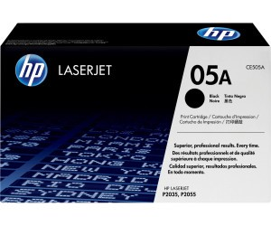 Original HP Toner CE505A / 05A black