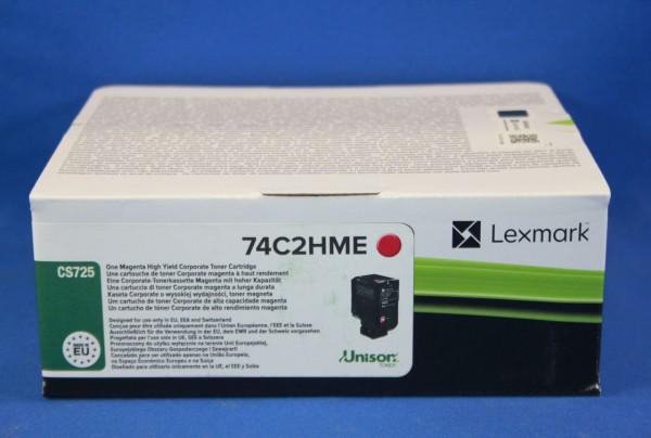 Original Lexmark Corporate Toner 74C2HME