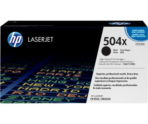 Original HP Toner CE250X / 504X black