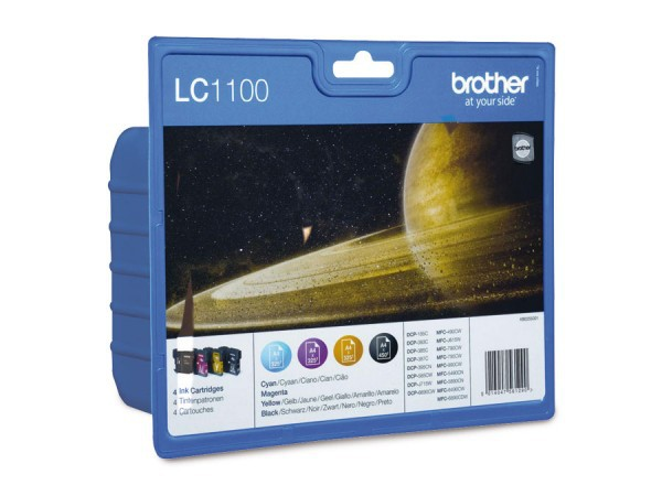 Brother Ink LC1100VALBPDR