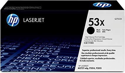 Original HP Toner Q7553X / 53X black
