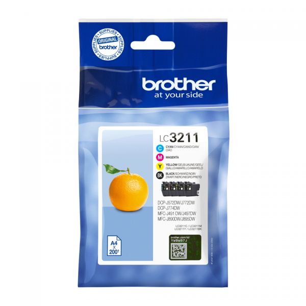 Brother Ink LC3211BK