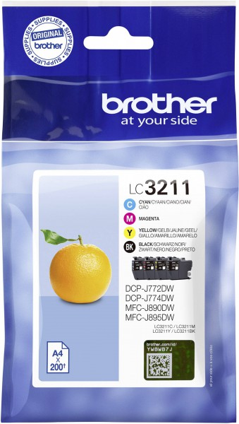 Brother Ink LC3211VALDR