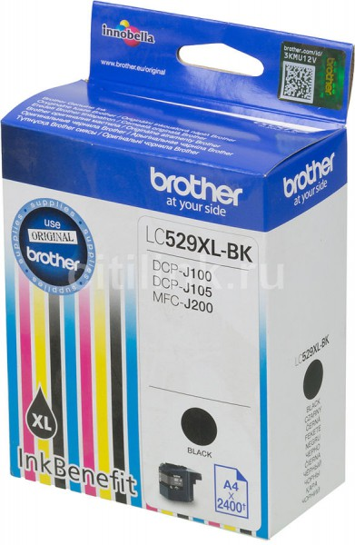 Brother Ink LC529XLBK